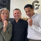 Cafe Gelato in Norwich welcomed Emma Thompson and Daryl McCormack