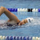 Camden Swiss Cottage Swimming Club's Alexandra Nurney in action