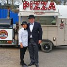 Robert Magil and his wife Anjing are the Pizza Butlers