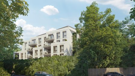 A view of how 84 West Heath Road will look should plans be approved.