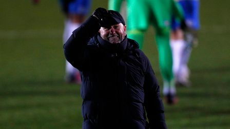 Gary Johnson, Manager of Torquay United at the final whistle on Tuesday