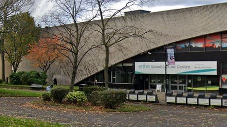The Sobell Leisure Centre, run by GLL for Islington Council