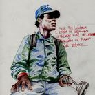 Artist Wayne Snooze used colour pencils to create drawings inspired by the pandemic.