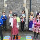 Youngsters dressed up as their favourite fictional characters for World Book Day in the region earlier this month.
