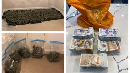Drugs, cash and a suspected firearm were seized as part of a year-long operation spanning six police forces.