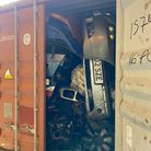 The contents of a storage container intercepted on the Essex coast.