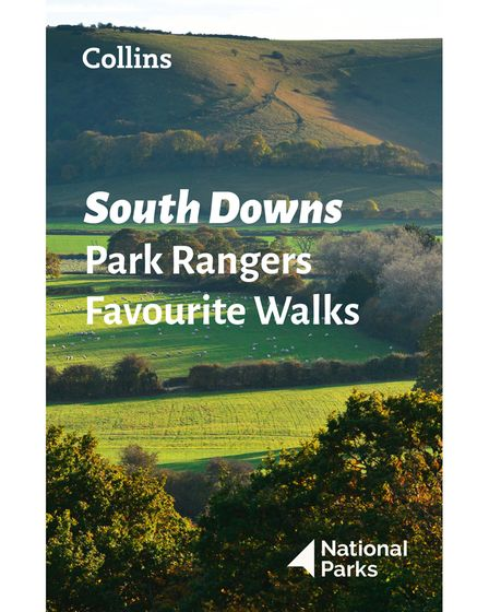 Front cover for Collins' South Downs Park Rangers Favourite Walks