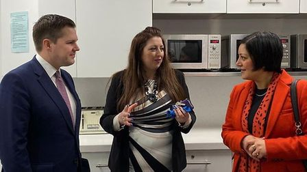 Housing Secretary visits Canning Town homelessness charity