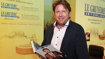 Celebrity chef James Martin will be at Yokrkshire Dales Festival of Food and Drink in 2021
