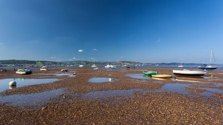 Exmouth beach, East Devon