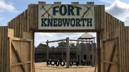 Fort Knebworth at Knebworth House is reopening for the Easter break.