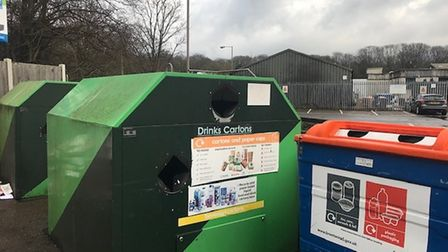 Warley has got some new recycling bins.