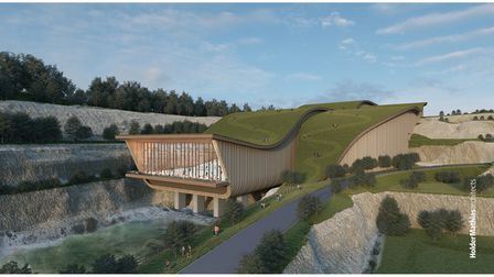 The new plans for the former Snoasis site show changes in design of the complex