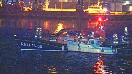 The Lowestoft RNLI Lifeboat was called to an angling boat in difficulty.