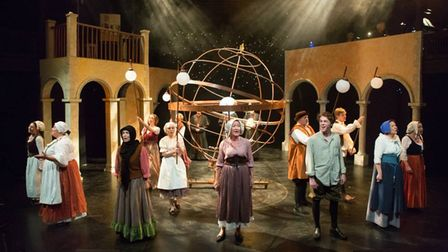 The Gallery Players staged the world premiere of Galileo at the New Wolsey