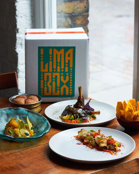 Easter meal kits for UK delivery: The Lima London Lux Box