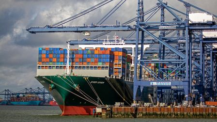 The Port of Felixstowe Picture: MIKE BOWDEN/CORY BROTHERS