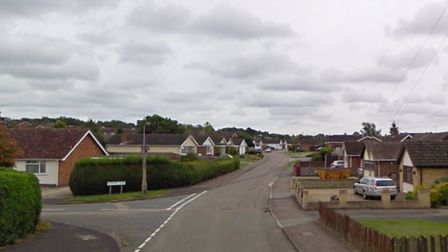 Police are stepping up patrols following an attempted burglary in Bacon Road, Barham