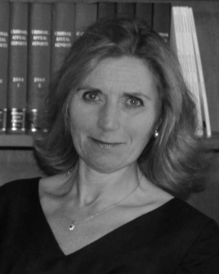 Dame Rafferty was the first female chair of the Criminal Bar Association