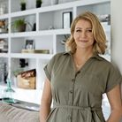 Declutter expert Magdalena Atkins of Simply Space in her Hertfordshire home