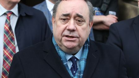 File photo dated 23/3/2020 of Alex Salmond. The Alex Salmond inquiry has reportedly concluded it is