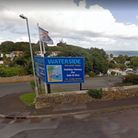 The entrance to Waterside Holiday Park in Paignton
