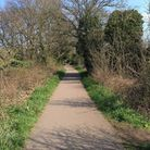 The attack took place on a towpath near the Alban Way.