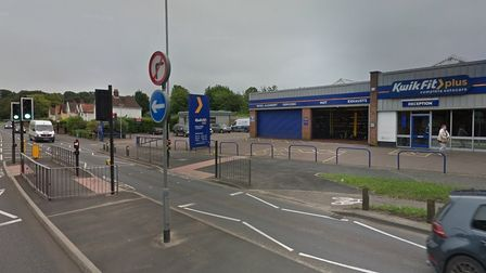 A deliveryvan driver was attacked on Dereham Road in Norwich.