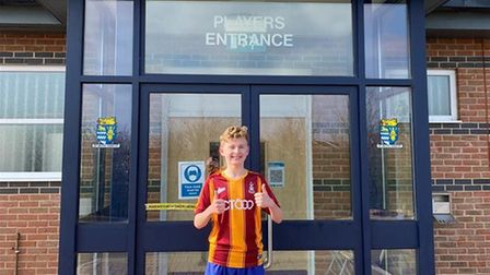 Billy Fawcett is virtually running to Bradford City FC to raise money for charity.