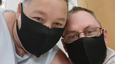 Sarah Whiteman, 37, from Kimbolton, is primary carer to her husband Michael, 40, who is living with incurable brain cancer.