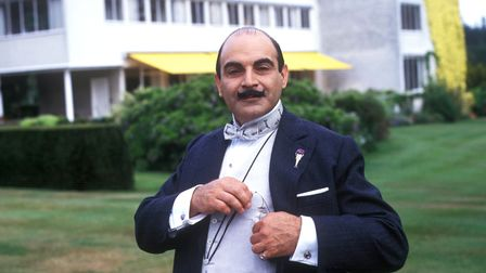 David Suchet stars as Poirot. All episodes can be seen on BritBox.