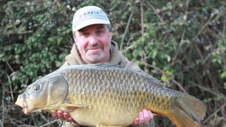 Martyn Lowe with a Common Carp