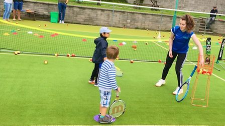 Clevedon Lawn Tennis Club are looking to get more youngsters involved in the sport