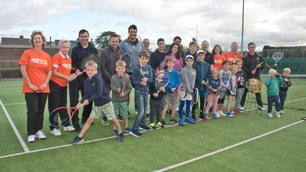 A previous open day with free coaching at Nailsea Tennis Club