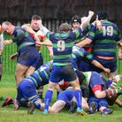 Action from the match between Kings Cross Steelers and Ilford Wanderers (pic Tim Edwards)