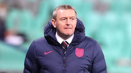 England manager Aidy Boothroyd on the touchline during the 2021 UEFA European Under-21 Championship