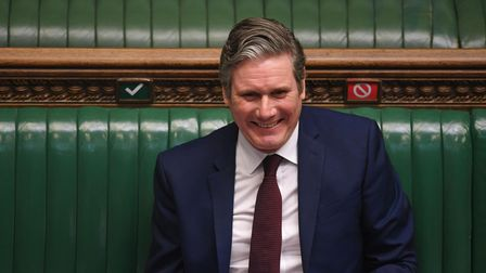 Sir Keir Starmer in the House of Commons