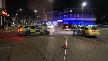 Two boys, 17, remain in hospital after being shot and stabbed in Kingsbury Road