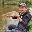 Elliot Fay with a 2 1/2lbs perch from Spring Ponds
