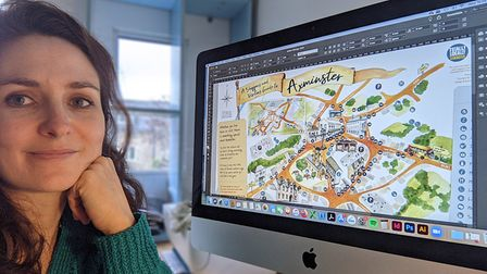 Traders put Axminster on the map