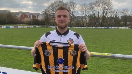 Axminster 2nds future Manager Jamie Barfoot