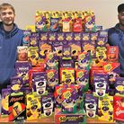 More than 80 Easter eggs were donated to charity from St Ives' Waterworx.