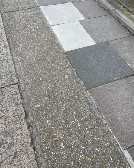 Clifford Garden pavements relaid by Virgin