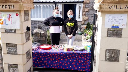 Clevedon students bake cakes for charity