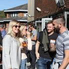 Revellers at a previous St Albans Beer and Cider Festival