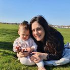 Cllr Peray Ahmet with her 10-month-old daughter, Saffy