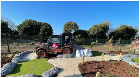 Jurassic Links Adventure Golf Course at Kingsway Golf Centre