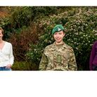 Army officer Captain Vicki Gosling with Chicksands Conservation Group volunteers