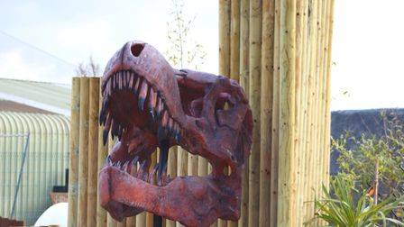 The Jurassic Links Adventure Golf course at Kingsway Golf Centre