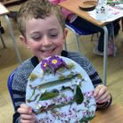 A student during an Easter Fun Day at St Thomas More Catholic Primary School, Saffron Walden